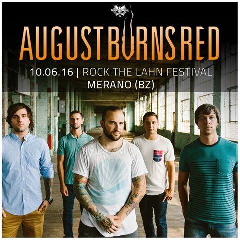 august burns red - merano - 2016