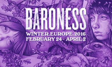 baroness tour 2016
