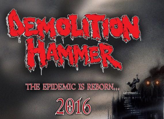 demolition hammer - reunion - 2016