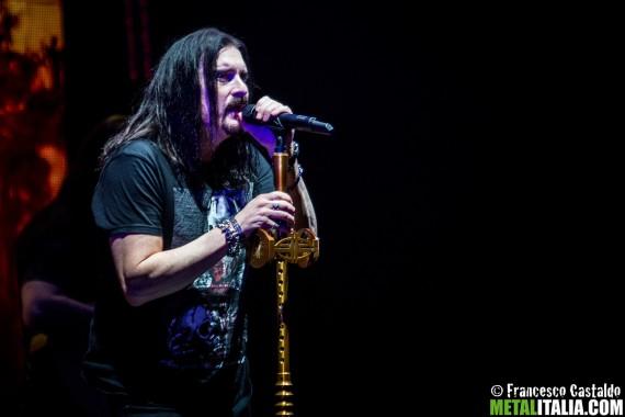 Dream Theater - James LaBrie - live Milano - 2016