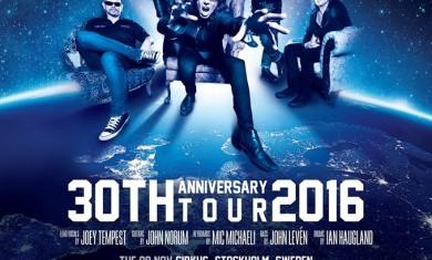 europe - the final countdown anniversary tour - 2016