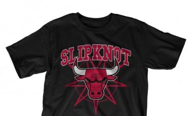 Slipknot - chicago bulls tee - 2016