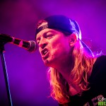 Wes Scantlin of Puddle Of A Mudd performs live at Live Club