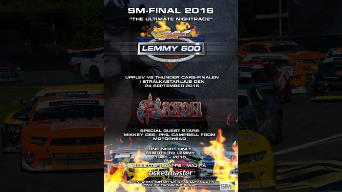 saxon - motorhead - lemmy 500 - 2016