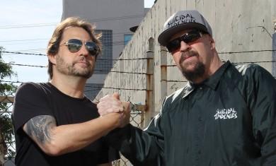 Dave Lombardo e Mike Muir