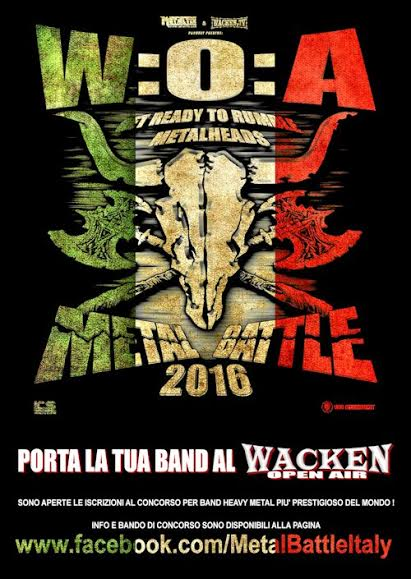 wacken metal battle italy 2016