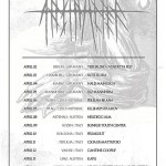 Abstracter  - flyer tour europeo - 2016