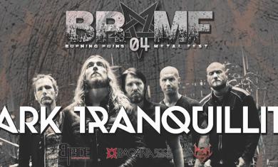 Dark Tranquillity - Burning Ruins Metal Fest 2016