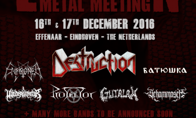 EINDHOVEN METAL MEETING 2016