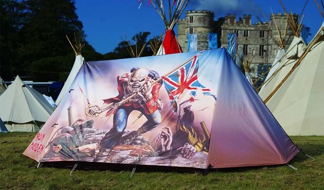 IRON MAIDEN - Tenda da campeggio - 2016