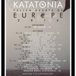 KATATONIA - Tour - Autunno - 2016