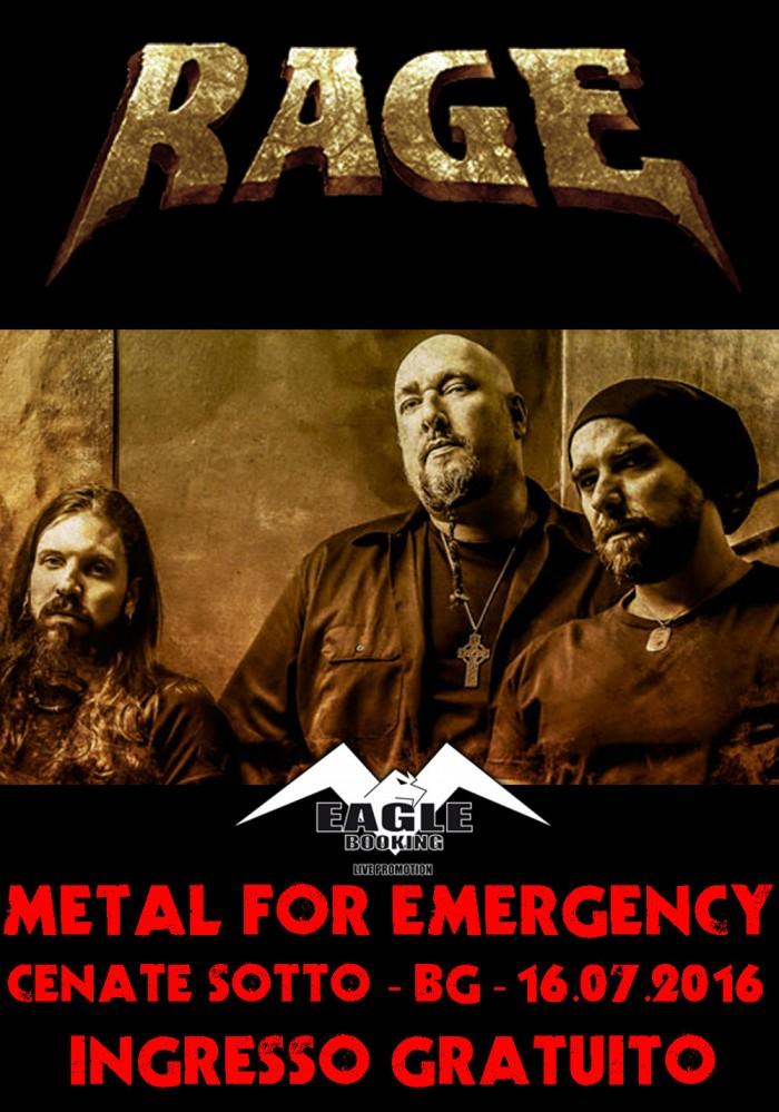 Rage - Metal For Emergency 2016