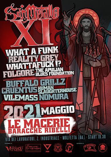 San Metallo Fest - locandina - 2016
