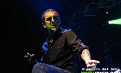 agony face - davide live rock hard 2013