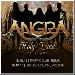 angra - holy land tour - 2016
