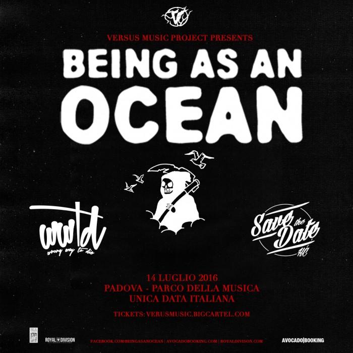 being as an ocean - padova 2016