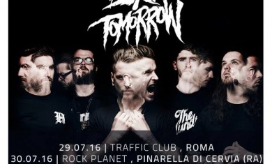 bury tomorrow - date italia - 2016