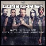 combichrist - date italia - 2016