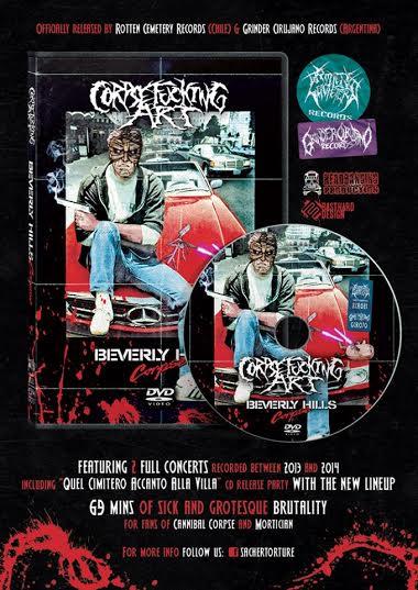 corpsefucking art - dvd 2016