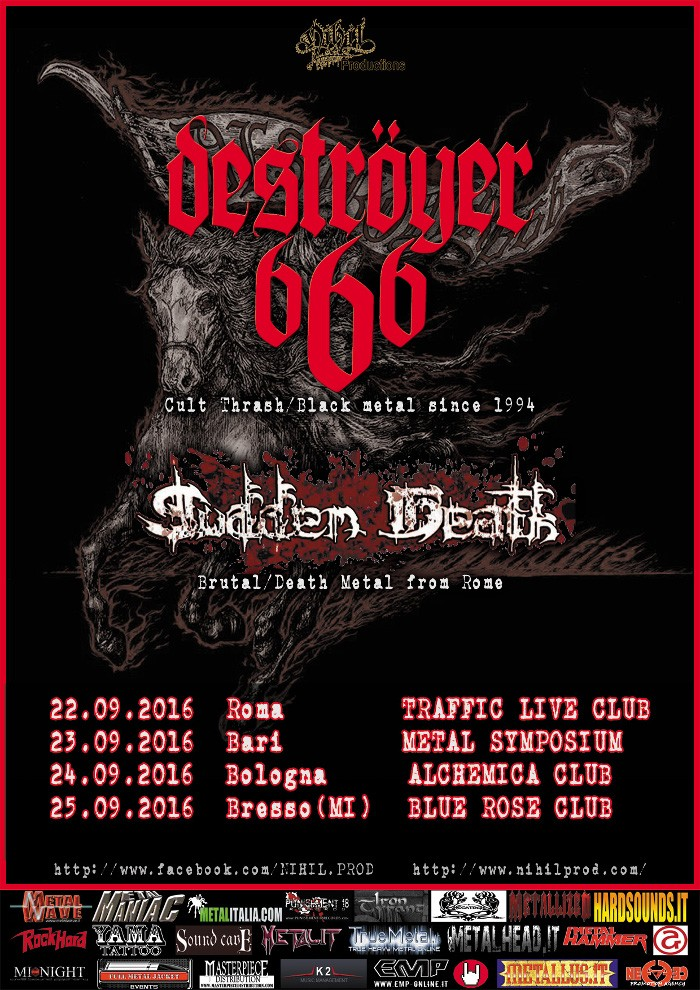 destroyer 666 - locandina date italia - 2016