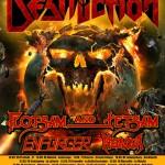 destruction - tour europa - 2016