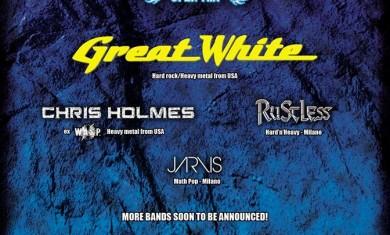 diversamente rock 2016 - annuncio great white