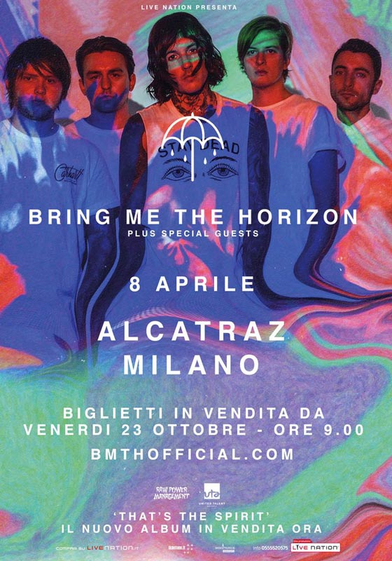 bring me the horizon - alcatraz - 2016