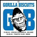 gorilla biscuits - date milano e roma def - 2016