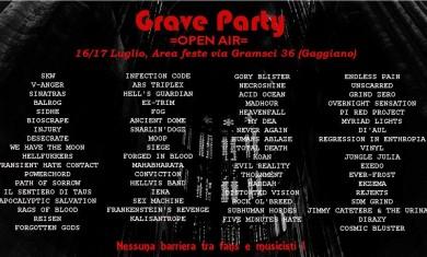 grave party 2016