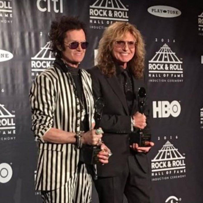 hughes e coverdale - hall of fame - 2016