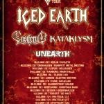 iced earth - mtv tour 2016