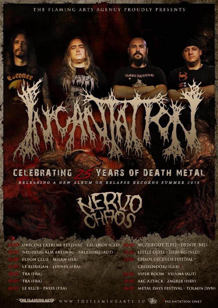 incantation tour summer 2016