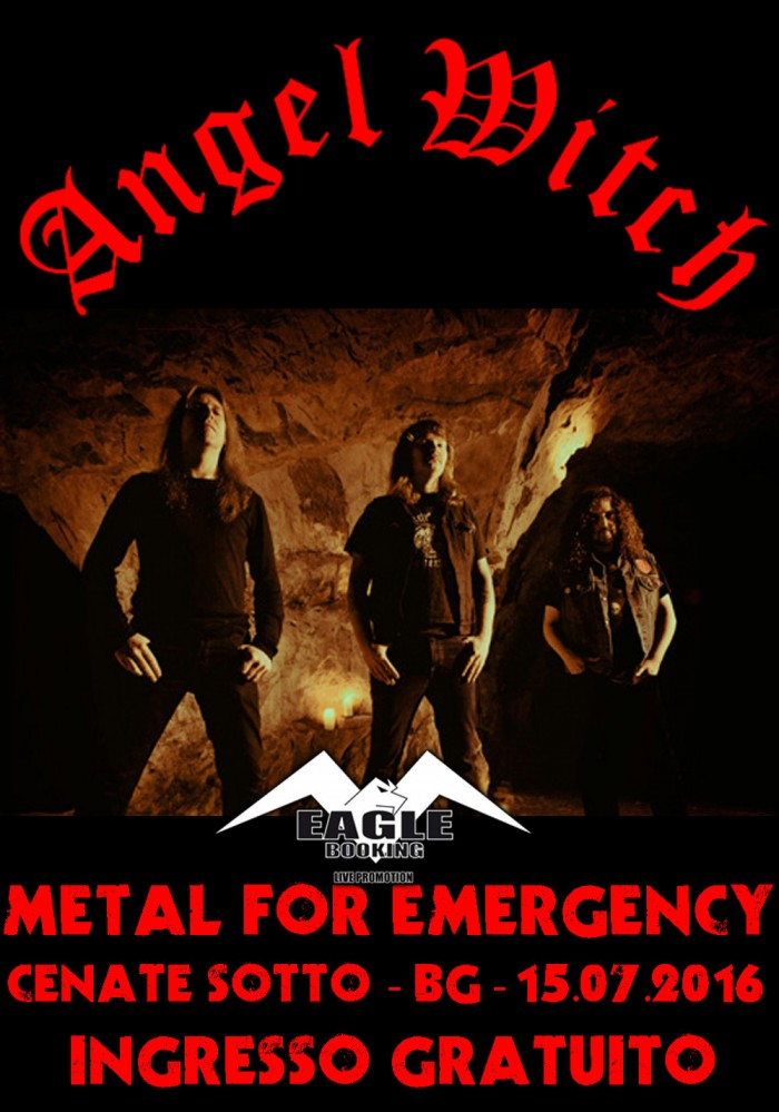 metal for emergency -Angel witch - 2016