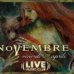 novembre - live trezzo - 2016
