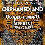orphaned land - tour 2016