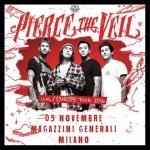 pierce the veil - milano - 2016