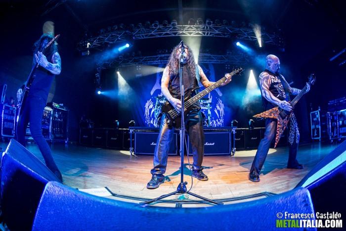 slayer - live trezzo - 2014