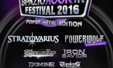spaziorock festival 2016 - locandina