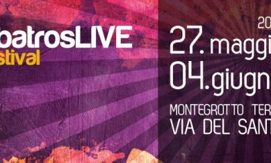 AlbatrosLIVE festival 2016 Montegrotto Terme