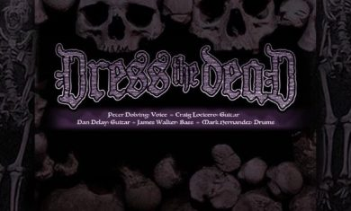 DRESS THE DEAD - band - logo - 2016