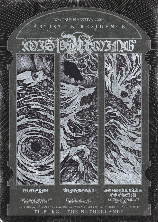 Misþyrming - roadburn 2016