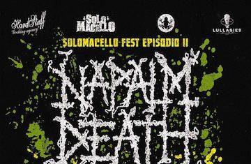 Napalm Death - Solomacello Fest locandina - 2016