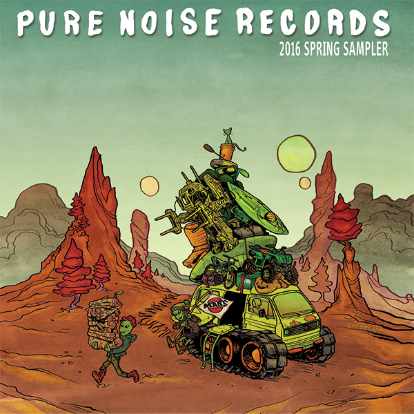 Pure Noise Records - 2016 Spring Sampler