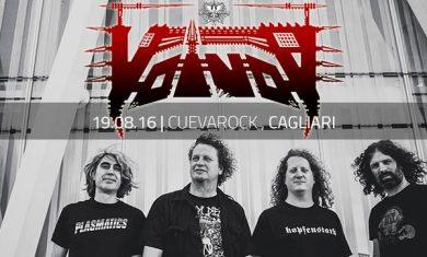 VOIVOD - Cagliari - locandina - 2016