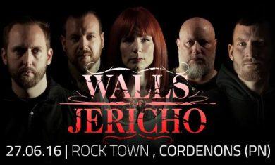 Walls of Jericho - Cordenons 2016