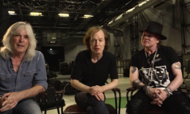 acdc con axl rose - 2016