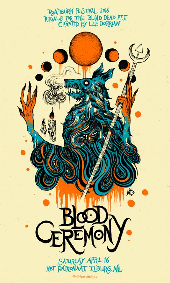 blood ceremony - roadburn 2016
