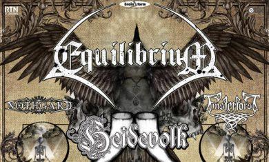 equilibrium heidevolk - locandina tour europeo 2016