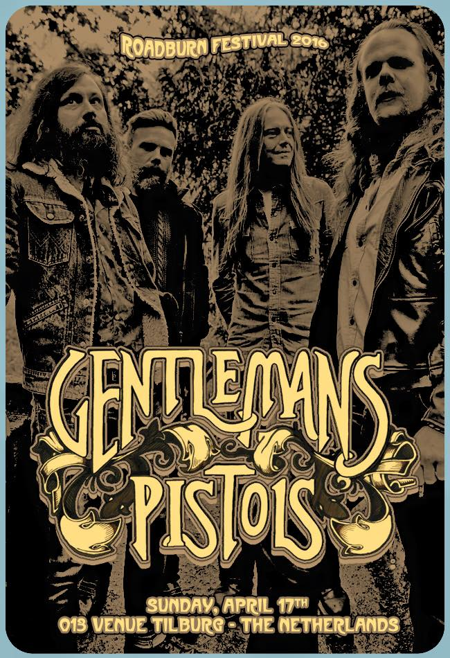 gentlemans pistols - roadburn 2016