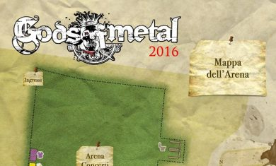 gods of metal 2016 - mappa